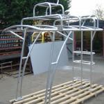 Aluminium canopy 1