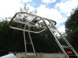 Stainless Steel Boat Canopy