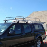 Bespoke Stainless Steel Roof Rack