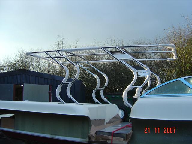Boat canopy & Aluminium u0026 Stainless Steel Fabrication | Yeovil Somerset UK